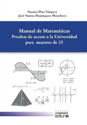 MANUAL DE MATEMÁTICAS