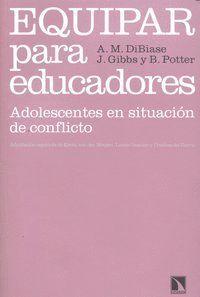 EQUIPAR PARA EDUCADORES ADOLESCENTES EN SITUACIÓN DE CONFLICTO