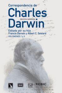 CORRESPONDENCIA DE CHARLES DARWIN EDITADA POR SU HIJO FRANCIS DARWIN Y ALBERT C. SEWARD