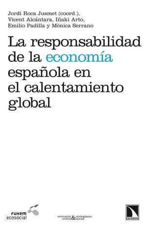 LA RESPONSABILIDAD DE LA ECONOMÍA ESPAÑOLA EN EL CALENTAMIENTO GLOBAL