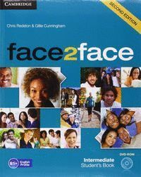 FACE2FACE FOR SPANISH SPEAKERS INTERMEDIATE STUDENT'S BOOK PACK (STUDENT'S BOOK WITH DVD-ROM AND HANDBOOK WITH AUDIO CD) 2ND EDITION