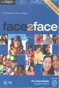 FACE2FACE FOR SPANISH SPEAKERS PRE-INTERMEDIATE STUDENT'S BOOK PACK (STUDENT'S BOOK WITH DVD-ROM AND HANDBOOK WITH AUDIO CD) 2ND EDITION
