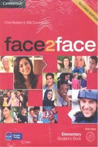 FACE2FACE FOR SPANISH SPEAKERS ELEMENTARY STUDENT'S BOOK PACK (STUDENT'S BOOK WITH DVD-ROM AND HANDBOOK WITH AUDIO CD) 2ND EDITION
