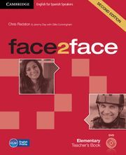 FACE2FACE FOR SPANISH SPEAKERS ELEMENTARY TEACHER'S BOOK WITH DVD-ROM 2ND EDITION
