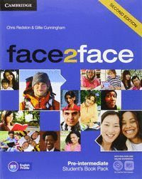 FACE2FACE FOR SPANISH SPEAKERS PRE-INTERMEDIATE STUDENT'S PACK(STUDENT'S BOOK WITH DVD-ROM, SPANISH SPEAKERS HANDBOOK WITH AUDIO CD,ONLINE WORKBOOK) 2