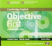OBJECTIVE FIRST CERTIFICATE CLASS AUDIO CD
