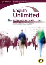 ENGLISH UNLIMITED FOR SPANISH SPEAKERS UPPER INTERMEDIATE SELF-STUDY PACK (WORKBOOK WITH DVD-ROM AND