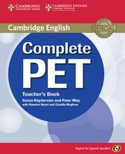 COMPLETE PET FOR SPANISH SPEAKERS TEACHER´S BOOK