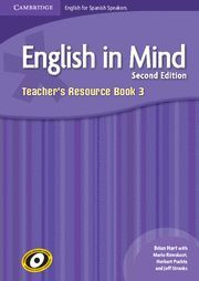 ENGLISH IN MIND FOR SPANISH SPEAKERS LEVEL 3 TEACHER'S RESOURCE BOOK WITH AUDIO CDS (4) 2ND EDITION