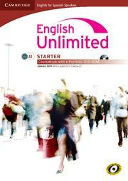 ENGLISH UNLIMITED FOR SPANISH SPEAKERS STARTER COURSEBOOK WITH E-PORTFOLIO