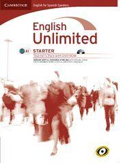ENGLISH UNLIMITED FOR SPANISH SPEAKERS STARTER TEACHER'S PACK (TEACHER'S BOOK WITH DVD-ROM)