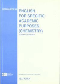 ENGLISH FOR SPECIFIC ACADEMIC PURPOSES [CHEMISTRY]