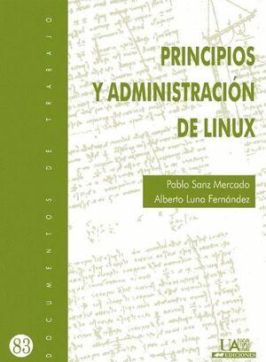 PRINCIPIOS Y ADMINISTRACIÓN DE  LINUX
