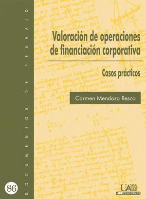 VALORACIÓN DE OPERACIONES DE FINANCIACIÓN CORPORATIVA.