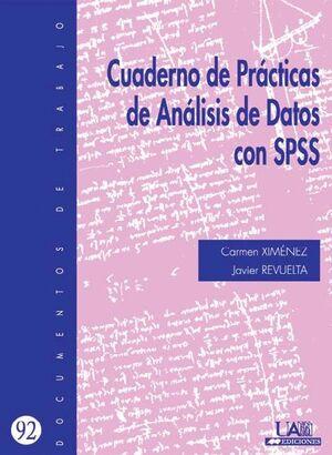 CUADERNO DE PRACTICAS DE ANÁLISIS DE DATOS CON SPSS