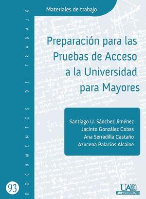 PREPARACIÓN PARA LAS PRUEBAS DE ACCESO A LA UNIVERSIDAD PARA MAYORES
