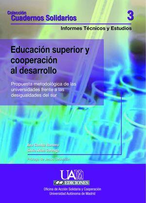 EDUCACIÓN SUPERIOR Y COOPERACIÓN AL DESARROLLO
