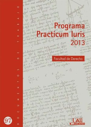 PRACTICUM IURIS 2013