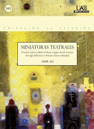 MINIATURAS TEATRALES