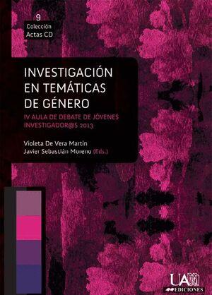 INVESTIGACIÓN EN TEMÁTICAS DE GÉNERO