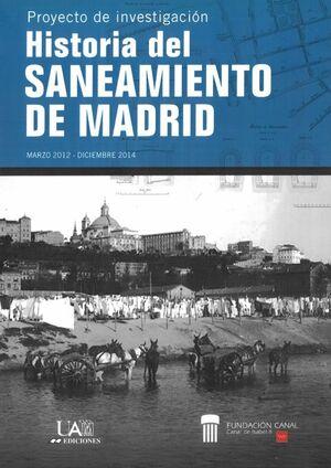 HISTORIA DEL SANEAMIENTO DE MADRID