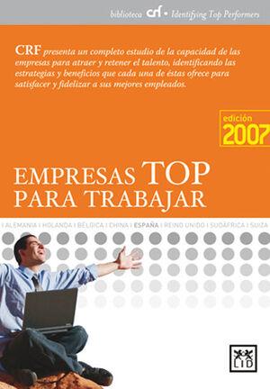 EMPRESAS TOP PARA TRABAJAR 2007