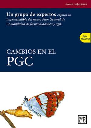 CAMBIOS EN EL PGC