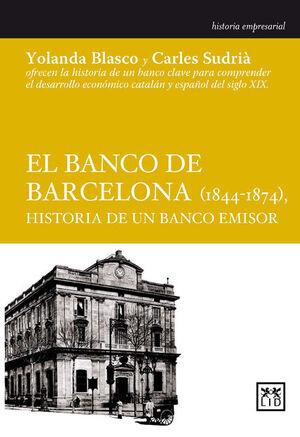 BANCO DE BARCELONA 1844-1874, EL