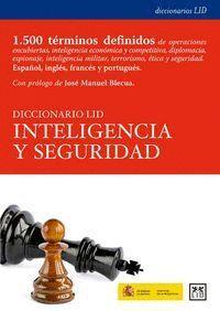 DICCIONARIO LID INTELIGENCIA Y SEGURIDAD ESPAÑOL, INGLES, FRANCES Y PORTUGUES