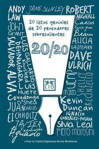 20 LISTAS GENIALES DE 20 PENSADORES SOBRESALIENTES 20/20