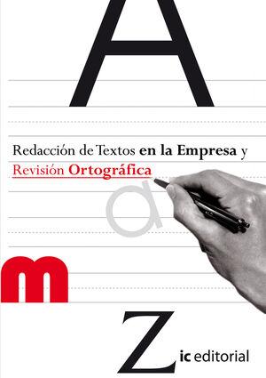 REDACCIÓN DE TEXTOS EN LA EMPRESA Y REVISIÓN ORTOGRÁFICA