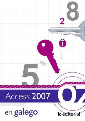ACCESS 2007 - VERSIÓN GALEGO