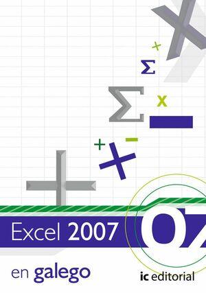 EXCEL 2007 - VERSIÓN GALLEGO