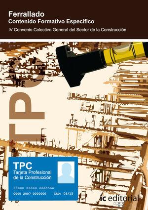 TPC - FERRALLADO - CONTENIDO FORMATIVO ESPECÍFICO