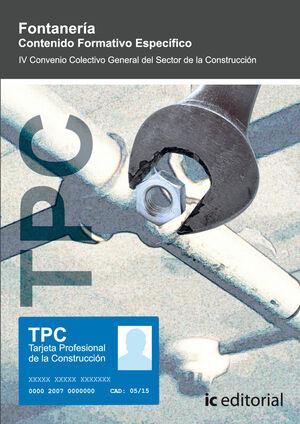 TPC - FONTANERÍA. CONTENIDO FORMATIVO ESPECÍFICO
