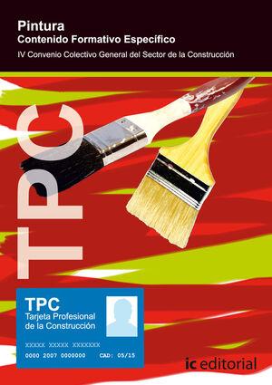 TPC - PINTURA - CONTENIDO FORMATIVO ESPECÍFICO