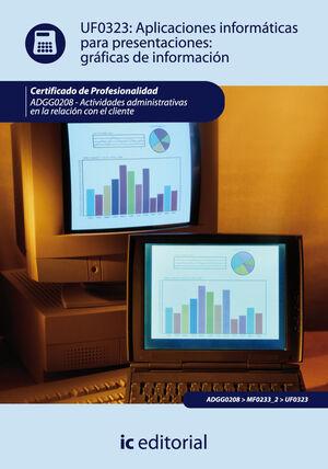 APLICACIONES INFORMÁTICAS PARA PRESENTACIONES: GRÁFICAS DE INFORMACIÓN. ADGG0208 - ACTIVIDADES ADMINISTRATIVAS EN LA RELACIÓN CON EL CLIENTE