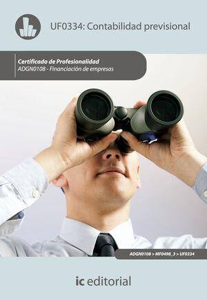 CONTABILIDAD PREVISIONAL. ADGN0108 - FINANCIACIÓN DE EMPRESAS