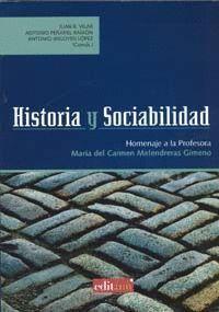 HISTORIA Y SOCIABILIDAD