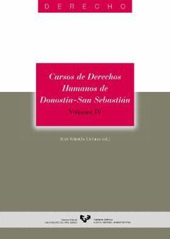 CURSOS DE DERECHOS HUMANOS DE DONOSTIA - SAN SEBASTIÁN. VOLUMEN IV