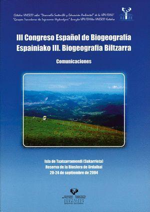 III CONGRESO ESPAÑOL DE BIOGEOGRAFÍA. COMUNICACIONES. ISLA DE TXATXARRAMENDI (SUKARRIETA), RESERVA D