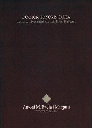 ANTONI M. BADIA I MARGARIT