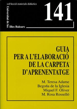 GUIA PER A L'ELABORACIÓ DE LA CARPETA D'APRENENTATGE