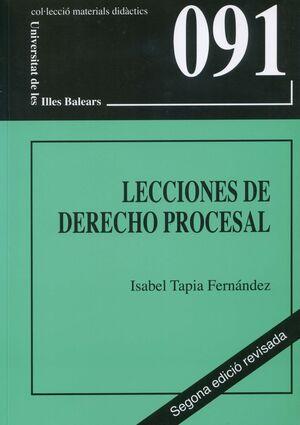 LECCIONES DE DERECHO PROCESAL (SEGONA EDICIÓ)