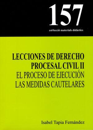LECCIONES DE DERECHO PROCESAL CIVIL II