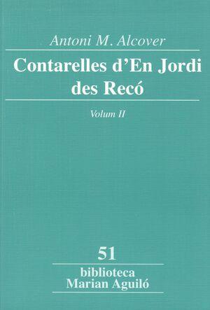 CONTARELLES D'EN JORDI DES RECÓ, VOL. 2