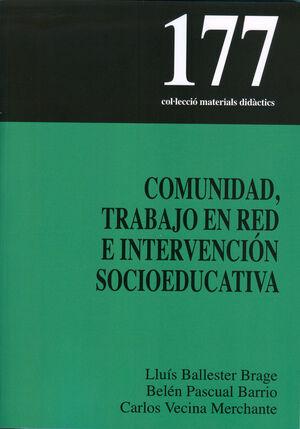 COMUNIDAD, TRABAJO EN RED E INTERVENCIÓN SOCIOEDUCATIVA