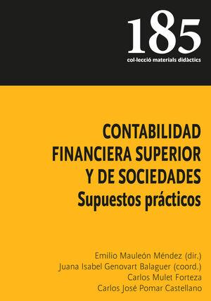 Contabilidad Financiera Superior Y De Sociedades Pomar Castellano Carlos José Libro En Papel 9788483843352