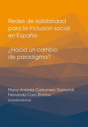 REDES DE SOLIDARIDAD PARA LA INCLUSIÓN SOCIAL EN ESPAÑA