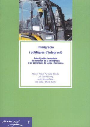 IMMIGRACIÓ I POLÍTIQUES D'INTEGRACIÓ